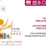 Sínodo 2023: Live dia 14 de outubro refletirá escutas às Igrejas Particulares