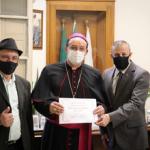 Dom Leomar recebe Certificado de Boas Vindas na Câmara de Vereadores
